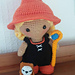 Weebee Doll - Witch Costume pattern