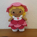 Weebee Doll - Garden Party Outfit pattern