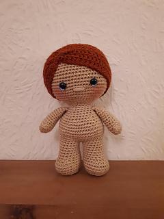 Amigurumi Doll Body Pattern, Crochet Mini Amigurumi Doll, Little ... | 320x240