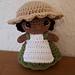 Little Weebee Doll - Apron pattern