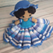 Weebee Doll - Showstopper Outfit pattern