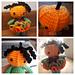 Little Weebee Doll Pumpkin Head pattern