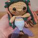 Wee Weebee - Wee Mermaid Doll pattern