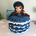 Weebee Pocket Paige Doll Toilet Roll Cosy pattern