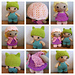 Weebee Doll - Mix and Match Clothing pattern