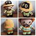 Weebee Doll - Firefighter pattern