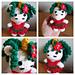 Wee Weebee Doll - Christmas Unicorn pattern