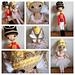 Weebee Sally Doll - Nutcracker & Sugar Plum Fairy pattern