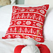 Winter Fairisle Cushion Cover pattern