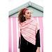 Asymmetric Lace Wrap pattern