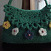 lacy-flap felted bag pattern