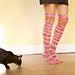 Copy Cat Thigh High Socks pattern