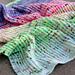 Blended Brioche Baby Blanket pattern