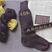 Gentlemen's Monogrammed Socks pattern