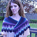 Storm's End Shawlette: Game of Thrones pattern