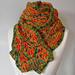 Leafy Lineation Scarf pattern