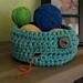 Super Chunky Yarn Bowl pattern