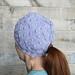 Cobblestone Ponytail Hat pattern