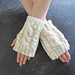 Quick Cable Fingerless Gloves pattern