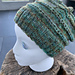 Slouch Hat with Ridges pattern