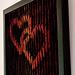 Verschlungene Herzen pattern