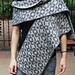 Geometric Double Knit Scarf pattern