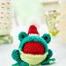 Singing frog pattern