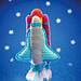 Arlo's Spaceship & Rocket pattern