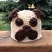 Pudgy Pug Hat pattern