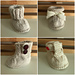 Seamless Baby Booties pattern