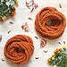 Cozy Pumpkin Spice Scarf pattern