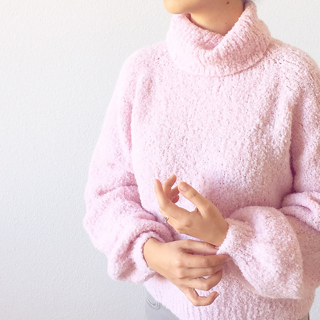 Ravelry: Sugar Cloud Sweater pattern by Life Is Cozy