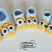 Minion slippers for Kids pattern