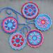 Mini Mandala Garland pattern