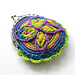 Cretan Butterfly Coin Purse pattern
