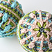 Snow Baubles - overlay crochet pattern
