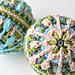 Snow Baubles - overlay crochet pattern