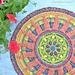 Sunny Mandala Overlay Crochet pattern