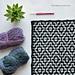 "Nya ""Infinity"" Mosaic Blanket pattern"