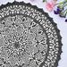 Graphite Mandala pattern