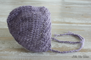 Ravelry: Newborn Knit Bonnet pattern by Little Miss Stitcher