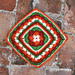 Deborah's Diamond Square pattern