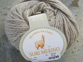 Plymouth Yarn Suri Merino Taupe