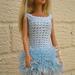 Barbie's fluffy dress pattern