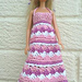 Barbie Summer Dress and Hat pattern