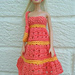 Barbie Two Colour Sundress and bag pattern