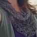 A Bit of Lace Hemp Triangle Scarf pattern