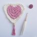 February: Little Love Bunting pattern
