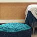 Floor cushion zpagetti pattern