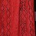 Lace Panel Scarf pattern